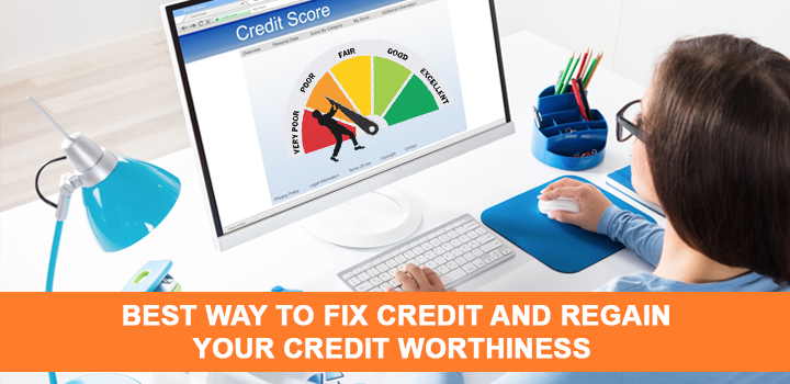 Best Way To Fix Credit