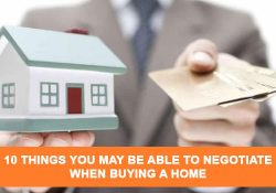 10 Things You May Be Able to Negotiate When Buying A Home