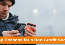Reasons for a Bad Credit Score