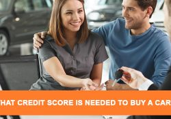 What credit score is needed to buy a car ?
