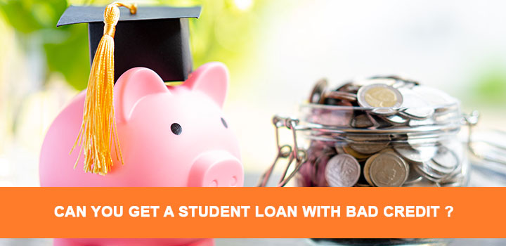 student loan with bad credit